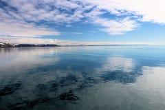 Sikt av ett arktiskt landskap Royaltyfri Fotografi