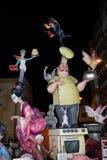 Sikt av Fallaen Don Bosco arkivfoton
