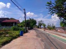 Sikt av flodkhong royaltyfri fotografi