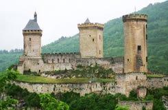 Sikt av Foix Royaltyfria Foton