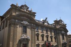 Sikt av Fondazione Franco Zeffirelli royaltyfri foto