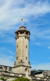 Sikt av gamla byggnader i Yangon, Myanmar Arkivbild
