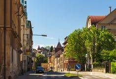 Sikt av gatorna av Podhorska fotografering för bildbyråer