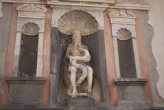 Sikt av Genio di Palermo arkivfoto