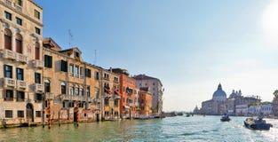 Sikt av Grand Canal, Venedig Royaltyfria Bilder