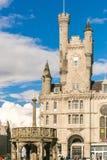 Sikt av granitstaden av Aberdeen i Skottland Arkivbilder