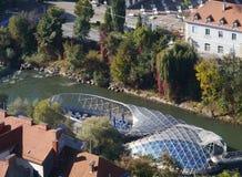 Sikt av Graz i Österrike Royaltyfri Foto