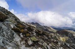 Sikt av höga Tatra Royaltyfri Foto