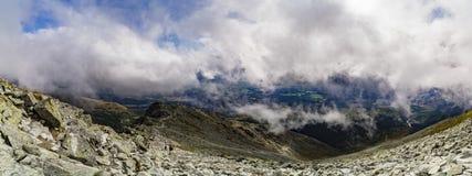 Sikt av höga Tatra Royaltyfria Foton