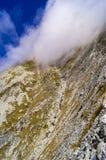 Sikt av höga Tatra Royaltyfri Fotografi