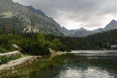 Sikt av höga Tatras Royaltyfria Bilder