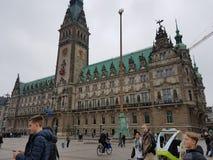 Sikt av Hamburg Royaltyfri Fotografi