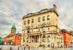 Sikt av hastighetskontoret i Dublin Royaltyfria Foton