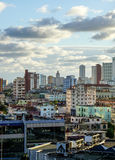 Sikt av havannacigarren, Kuba Arkivbild