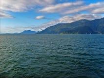Sikt av havet i Chile Royaltyfria Bilder