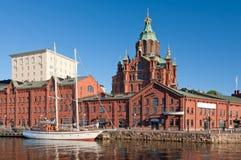 Sikt av Helsingfors Arkivbild