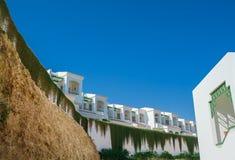 Sikt av hotellet i Egypten Royaltyfria Bilder