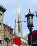 Sikt av i stadens centrum San Francisco fotografering för bildbyråer
