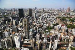 Sikt av i stadens centrum Tokyo Fotografering för Bildbyråer