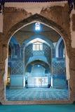 Sikt av inreblåttmoskén i Tabriz Östligt Azerbajdzjan landskap iran Royaltyfria Bilder