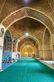Sikt av inreblåttmoskén i Tabriz Östligt Azerbajdzjan landskap iran Arkivbilder