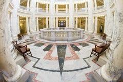 Sikt av insidan av den boise huvudstaden Royaltyfria Foton