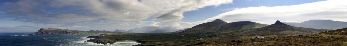 Sikt av Irland Arkivfoton