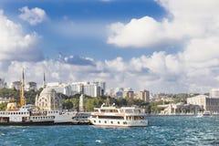 Sikt av Istanbul Royaltyfri Foto
