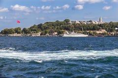 Sikt av Istanbul Arkivbild