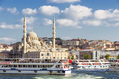 Sikt av Istanbul Fotografering för Bildbyråer