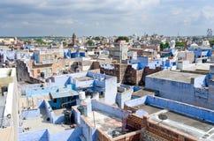 Sikt av Jodhpur Rajasthan Indien Fotografering för Bildbyråer