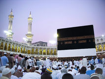 Sikt av Kaaba royaltyfria bilder