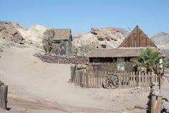 Sikt av kalikå, Kalifornien, San Bernardino County Arkivfoto
