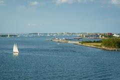 Sikt av Key West Royaltyfri Fotografi