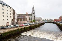 Sikt av kork, Irland Royaltyfria Bilder
