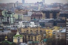 Sikt av Kreml och Moskvafloden Royaltyfri Bild