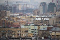 Sikt av Kreml och Moskvafloden Royaltyfri Foto