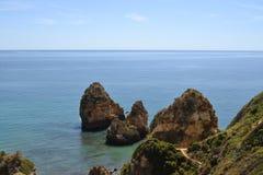 Sikt av kusten Royaltyfria Foton