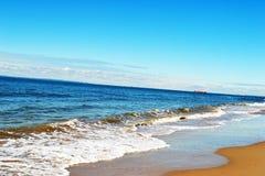 Sikt av kusten Arkivbilder