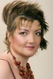 Sikt av kvinnan Royaltyfria Foton