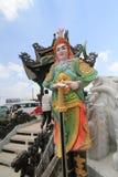 Sikt av Linh Phuoc Pagoda Royaltyfri Foto