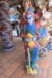 Sikt av Linh Phuoc Pagoda Arkivbilder
