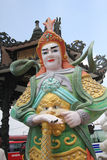 Sikt av Linh Phuoc Pagoda Arkivfoton