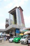 Sikt av Linh Phuoc Pagoda i Da-Lat Arkivbilder