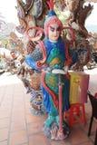 Sikt av Linh Phuoc Pagoda i Da-Lat Royaltyfri Fotografi