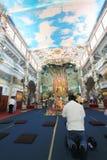 Sikt av Linh Phuoc Pagoda i Da-Lat Royaltyfri Bild