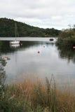 Sikt av Loch Lomond från Aldochlay, Skottland Royaltyfria Foton