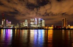 Sikt av London horisont Fotografering för Bildbyråer