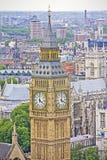 Sikt av London och den stora Benen Royaltyfri Bild