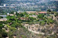 Sikt av Losa Angeles Fotografering för Bildbyråer